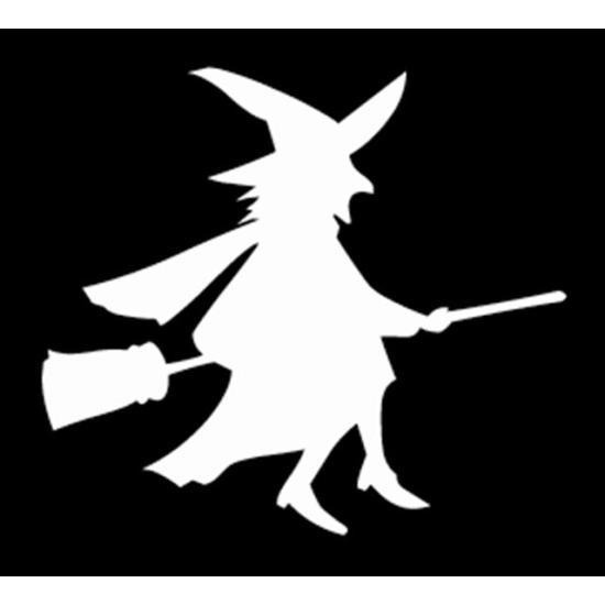 Boszorkány 01 festősablon Lányoknak