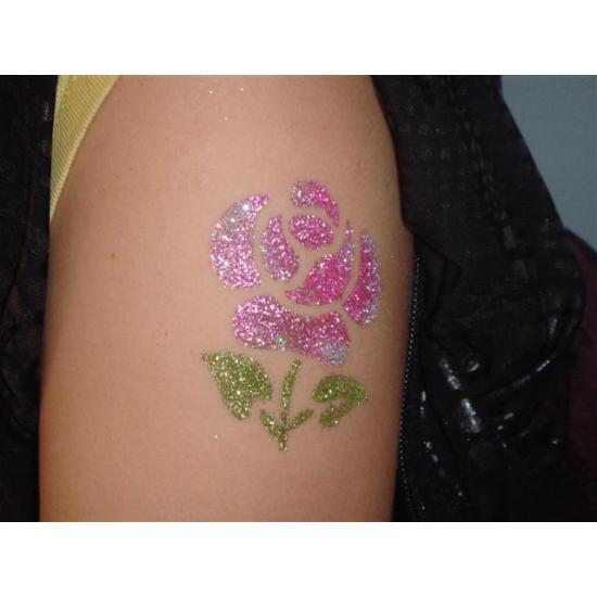 Rózsaszín csillámpor - sqEZ Babarózsaszín csillámpor Metál színű csillámpor