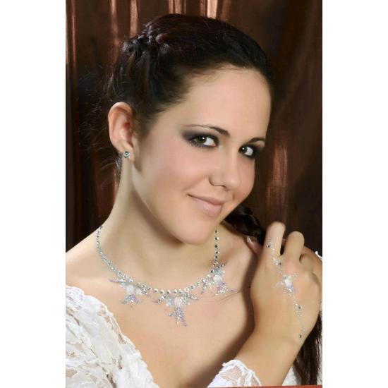Csillámtetoválás Készlet - Menyasszonyi Készlet - CsillámVilág Bridal Glitter Tattoo Kit Csillám tetoválás készletek