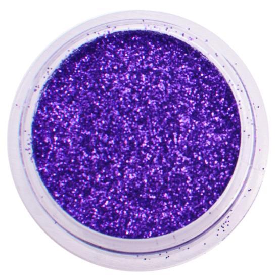Kék csillámpor - Liláskék csillámpor Metál színű csillámpor
