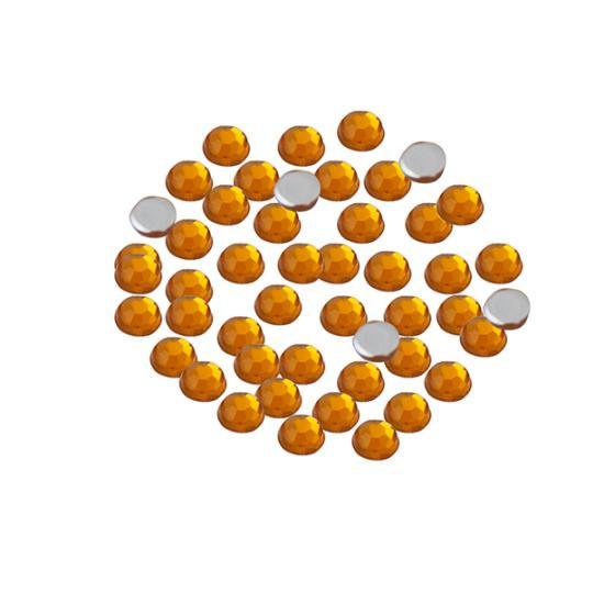 Arany strasszkő 2,5 mm, 50 db Strasszkő
