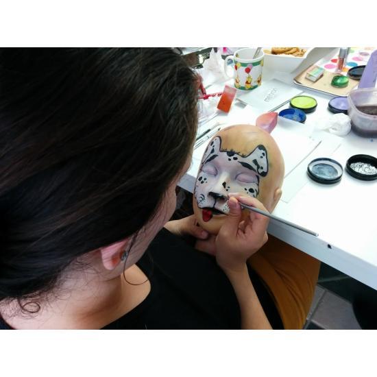 Arcfestő tanfolyam 1. Kezdő Arcfestés (1 napos) Tanfolyam