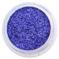 Kék csillámpor - Éj-sötétkék csillámpor Metál színű csillámpor